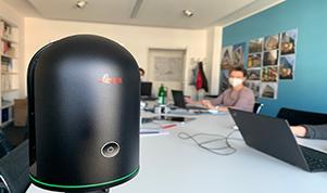 Hurra, der 3D-Laserscanner ist da! Jetzt kann es los gehen...